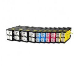 10 Cartuchos de tinta Compatibles, Canon PGI-1500 Negro 36ml + Colores 11.5ml
