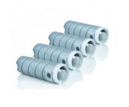 4 Cartuchos de Toner Compatible, Konica Minolta 8932614 Negro ~ 18.500 Paginas