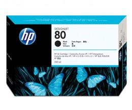Cabeça de impressão Original HP 80 Negra e dispositivo de limpeza
