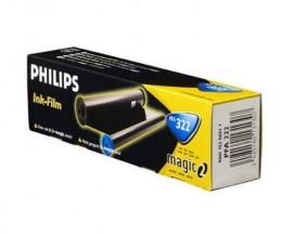 Rollo de transferencia termica Original Philips PFA322 Negro ~ 150 Paginas