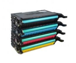 4 cartuchos de toneres Compatibles, Samsung 660B Negro + Colores ~ 5.000 Paginas