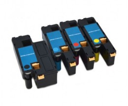 4 Cartuchos de Toneres Compatibles, DELL 5931112X Negro + Colores ~ 1.250 / 1.000 Paginas
