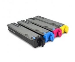 4 Cartuchos de Toneres Compatibles, Kyocera TK 510 Negro + Colores ~ 8.000 Paginas