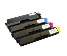 4 Cartuchos de Toneres Compatibles, Olivetti P2021 Negro + Colores ~ 3.500 / 2.800 Paginas