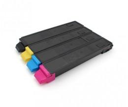 4 Cartuchos de Toneres Compatibles, Kyocera TK 895 Negro + Colores ~ 12.000 / 6.000 Paginas