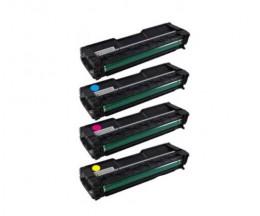 4 Cartuchos de Toneres Compatibles, Ricoh 40605X Negro + Colores ~ 2.000 Paginas