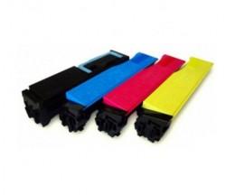 4 Cartuchos de Toneres Compatibles, Utax 3521 Negro + Colores ~ 5.000 / 4.000 Paginas