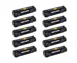 10 Cartuchos de Toneres Compatibles, HP 83A Negro ~ 1.500 Paginas
