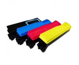 4 Cartuchos de Toneres Compatibles, Kyocera TK 570 Negro + Colores ~ 16.000 / 12.000 Paginas