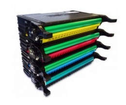 4 Cartuchos de Toneres Compatibles, DELL 5931036X Negro + Colores ~ 5.500 / 5.000 Paginas