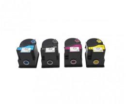 4 Cartuchos de Toneres Compatibles, Konica Minolta TN-310 Negro + Colores ~ 11.500 Paginas
