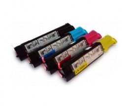 4 Cartuchos de Toneres Compatibles, DELL 5931006X Negro + Colores ~ 6.000 Paginas
