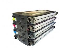 4 Cartuchos de Toneres Compatibles, Lexmark C500H2 ~ 5.000 / 3.000 Paginas