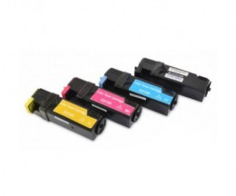 4 Cartuchos de Toneres Compatibles, DELL 5931103X Negro + Colores ~ 3.000 / 2.500 Paginas