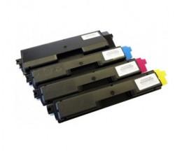 4 Cartuchos de Toneres Compatibles, Kyocera TK 590 Negro + Colores ~ 7.000 / 5.000 Paginas