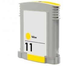 Cartucho de Tinta Compatible HP 11 Amarillo 28ml