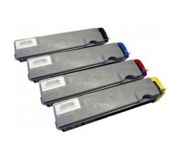 4 Cartuchos de Toneres Compatibles, Kyocera TK 520 Negro + Colores ~ 6.000 / 4.000 Paginas
