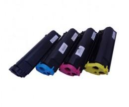 4 Cartuchos de Toneres Compatibles, Konica Minolta 4576X11 Negro + Colores ~ 4.500 Paginas