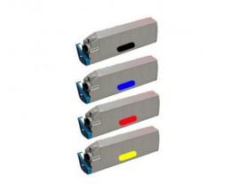 4 Cartuchos de Toneres Compatibles, OKI 415152XX ~ 15.000 Paginas
