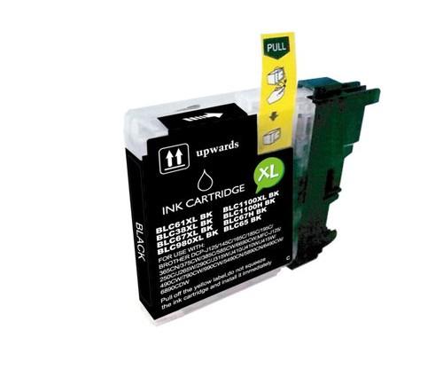 Cartucho de Tinta Compatible Brother LC-980 XL BK / LC-1100 XL BK Negro 28ml