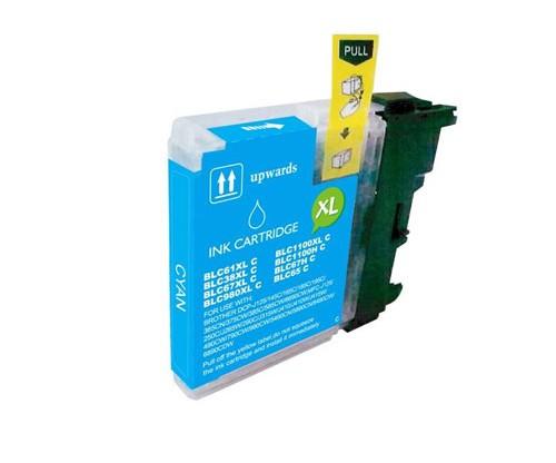 Cartucho de Tinta Compatible Brother LC-980 XL C / LC-1100 XL C Cyan 18ml