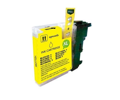 Cartucho de Tinta Compatible Brother LC-980 XL Y / LC-1100 XL Y Amarillo 18ml