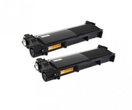 2 Cartuchos de Toneres Compatibles, Brother TN-2320 Negro ~ 2.600 Paginas
