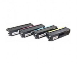 4 Cartuchos de Toneres Compatibles, Brother TN-900 Negro + Colores ~ 6.000 Paginas