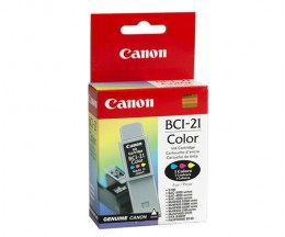 Cartucho de Tinta Original Canon BCI-21 Colores 10ml