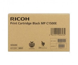 Cartucho de Tinta Gel Original Ricoh 888547 Negro ~ 9.000 Paginas