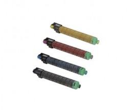 4 Cartuchos de Toneres Compatibles, Ricoh 82112X Negro + Colores ~ 23.500 / 16.000 Paginas