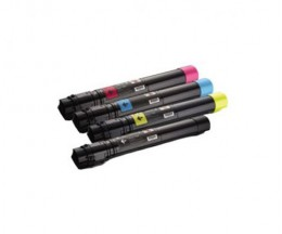4 Cartuchos de Toneres Compatibles, DELL 5931087X Negro + Colores ~ 19.000 / 20.000 Paginas
