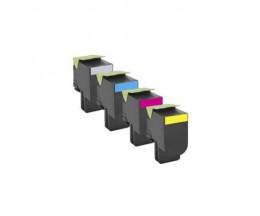 4 Cartuchos de Toneres Compatibles, Lexmark 802S Negro + Colores ~ 2.500 / 2.000 Paginas