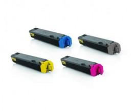 4 Cartuchos de Toneres Compatibles, Kyocera TK 5160 Negro + Colores ~ 16.000 / 14.000 Pages