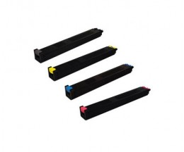 4 Cartuchos de Toneres Compatibles, Sharp MX31 Negro + Colores ~ 18.000 / 15.000 Paginas