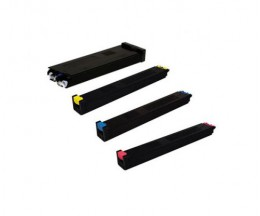 4 Cartuchos de Toneres Compatibles, Sharp MX51 Negro + Colores ~ 40.000 / 18.000 Paginas