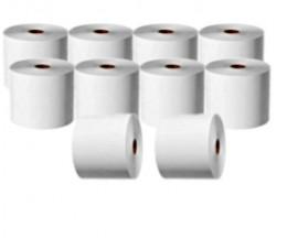 10 Rollos de Papel Térmico 44x70x11mm