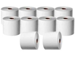10 Rollos de Papel Térmico 44x75x11mm