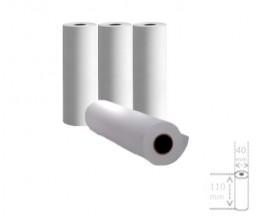 4 Rollos de Papel Térmico 110x40x11mm
