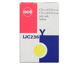 Cartucho de Tinta Original OCE IJC 236 Amarillo 130ml