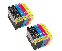 10 Cartuchos de tinta Compatibles, Epson T2991-T2994 / 29 XL Negro 17ml + Cor 13ml