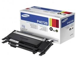 2 Cartuchos de Toneres Originales, Samsung P4072B Negro ~ 1.500 Paginas