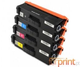 4 Cartuchos de Toneres Compatibles, Brother TN-326 Negro + Colores ~ 4.000 / 3.500 Paginas