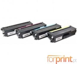 4 Cartuchos de Toneres Compatibles, Brother TN-900 Negro + Colores ~ 6.000 Paginas