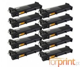 10 Cartuchos de Toneres Compatibles, Brother TN-2320 Negro ~ 2.600 Paginas