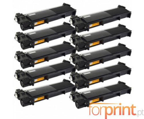 10 Cartuchos de Toneres Compatibles, Brother TN-2320 Negro ~ 2.600 Paginas