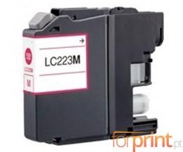 Cartucho de Tinta Compatible Brother LC-221 M / LC-223 M Magenta 9ml