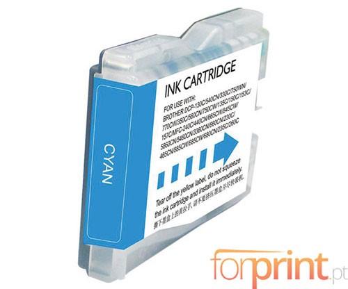 Cartucho de Tinta Compatible Brother LC-970 XL C / LC-1000 XL C Cyan 26.6ml