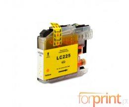 Cartucho de Tinta Compatible Brother LC-225 XL Y Amarillo 15.6ml