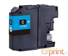 Cartucho de Tinta Compatible Brother LC-12E C Cyan